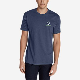 Men's Graphic T-Shirt - Compassed in Blue