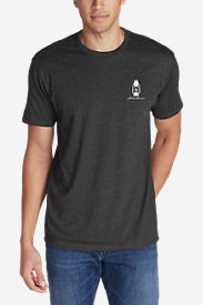 Men's Graphic T-Shirt - Lanterned in Gray