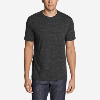 Men's Legend Wash Pro T-Shirt - Space Dye in Gray
