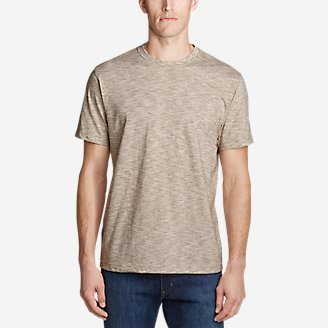 Men's Legend Wash Pro T-Shirt - Space Dye in Beige