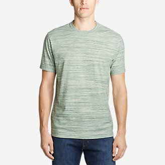 Men's Legend Wash Pro T-Shirt - Space Dye in Green