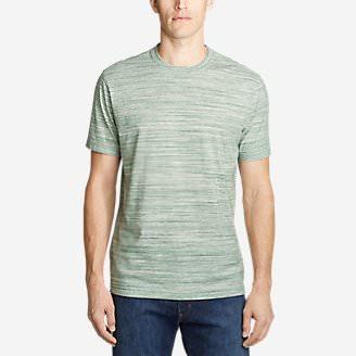 Men's Legend Wash Pro T-Shirt - Space Dye in Green