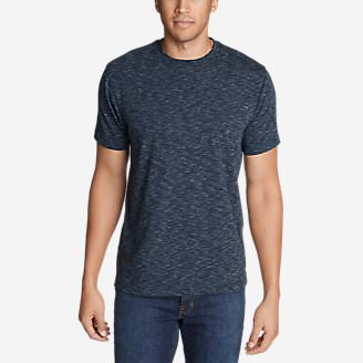 Men's Legend Wash Pro T-Shirt - Space Dye in Blue