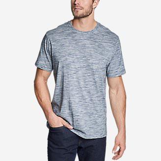 Men's Legend Wash Pro T-Shirt - Space Dye in Blue