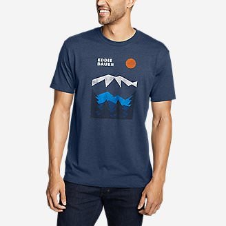 Men's Graphic T-Shirt - Logo Tier in Blue