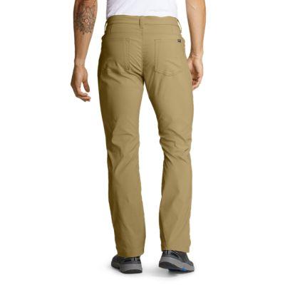 Eddie Bauer Para Hombre Horizon Guia Cinco Bolsillos Pantalones Calce Recto Ebay