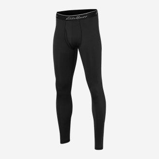Men's Midweight Baselayer Pants in Black