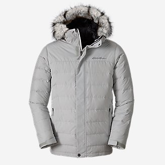 Men's Boundary Pass Parka in Beige