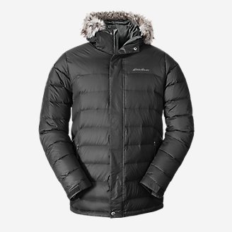 Men's Boundary Pass Down Parka in Gray