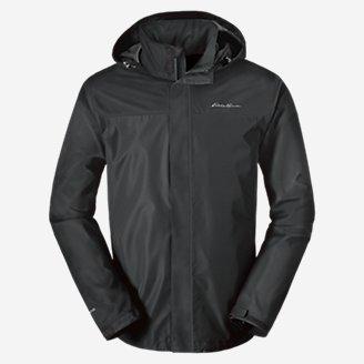 Men's Rainfoil Packable Jacket in Gray