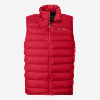 Men's CirrusLite Down Vest in Red