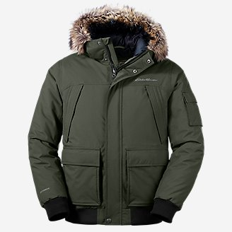 Men's Superior Down Bomber Jacket in Green