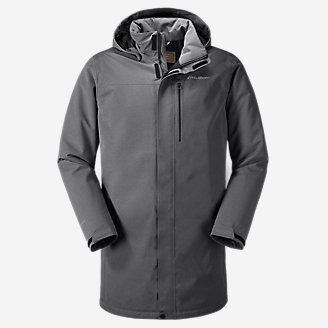 Men's Mainstay 2.0 Insulated Trench in Gray