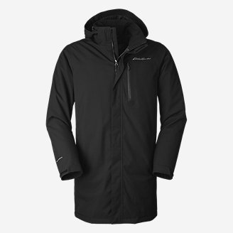 Men's Mainstay 2.0 Insulated Trench in Black