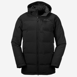 Men's Glacier Peak Seamless Stretch Down Parka in Black