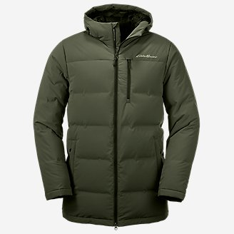 Men's Glacier Peak Seamless Stretch Down Parka in Green