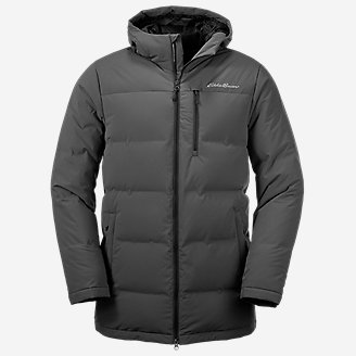 Men's Glacier Peak Seamless Stretch Down Parka in Gray