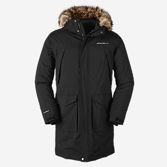 Men's Superior Down Stadium Coat in Black