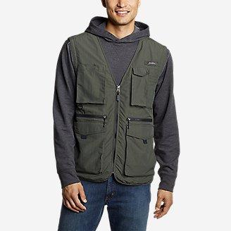 Men's Atlas Utility Vest in Green