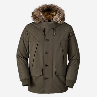 Men's B-9 Waterproof Down Parka in Green