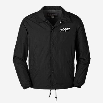 Men's Eddie Bauer Coach's Jacket in Black