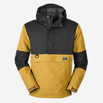 Men's Chopper Anorak in Yellow