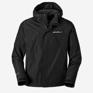 Men's Rainfoil Ridge Jacket in Black
