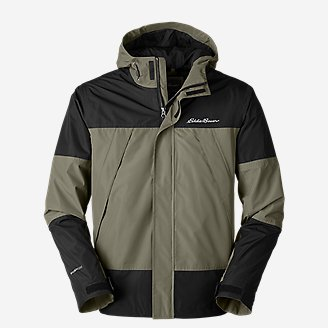 Men's Rainfoil Ridge Jacket in Green