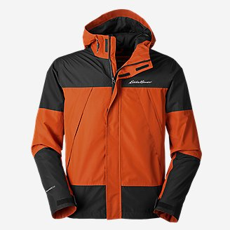 Men's Rainfoil Ridge Jacket in Orange