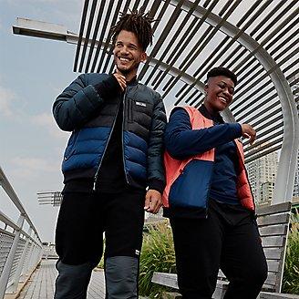 EBTek Reversible Down Jacket in Blue