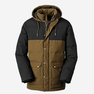 Men's Seabeck Down Parka in Green