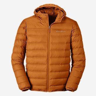 Men's CirrusLite Down Hooded Jacket in Yellow