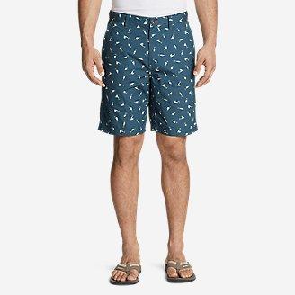 Men's Camano Shorts - Print in Blue