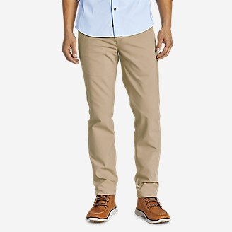 Men's Flex Wrinkle-Resistant Sport Chinos - Slim in Beige