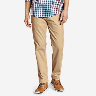 Men's Flex Wrinkle-Resistant Sport Chinos - Relaxed in Brown