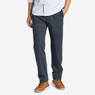 Men's Flex Wrinkle-Resistant Sport Chinos - Relaxed in Gray
