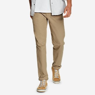 Men's Voyager Flex Chinos - Slim in Beige