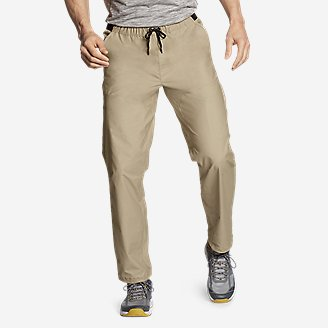 Men's Ultimate Adventure Flex Pull-On Pants in Beige