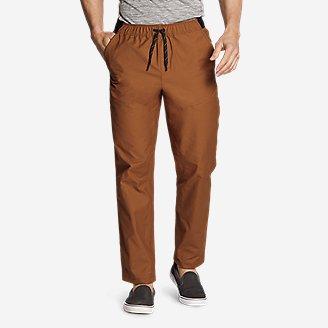 Men's Ultimate Adventure Flex Pull-On Pants in Red