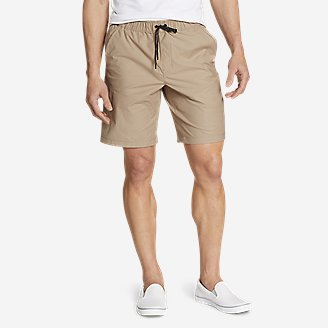 Men's Ultimate Adventure Flex Pull-On Shorts in Beige