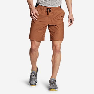 Men's Ultimate Adventure Flex Pull-On Shorts in Red