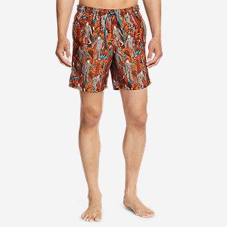 Men's Tidal Shorts in Red