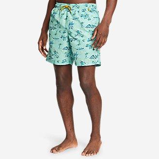 Men's Tidal Shorts in Green