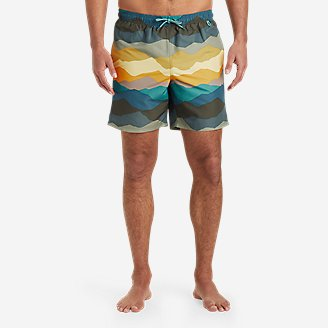 Men's Tidal Shorts in Green