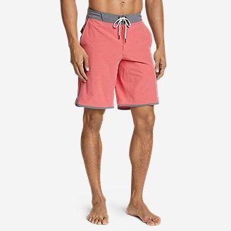 Men's Amphib Board Shorts in Red