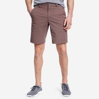 Men's Voyager Flex 10' Chino Shorts in Purple