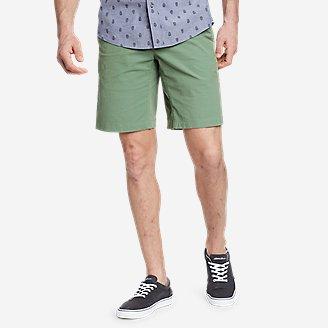 Men's Voyager Flex 10' Chino Shorts in Green
