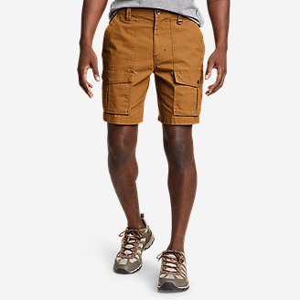 Men's Scout Pass Cargo Shorts in Brown