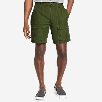 Men's Scout Pass Cargo Shorts in Green