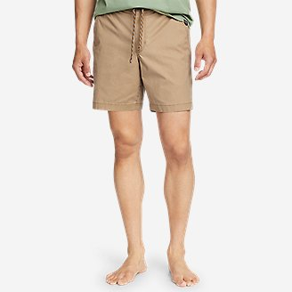 Men's Top Out Ripstop Shorts in Beige